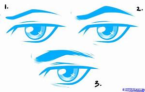 How to draw: HOW TO DRAW: Anime Male Eyes