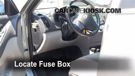 Interior Fuse Box Location Hyundai Elantra