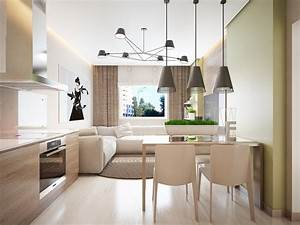 Zimmer Trennen Ikea : ger umiges wohnzimmer mit essbereich und k che ~ A.2002-acura-tl-radio.info Haus und Dekorationen