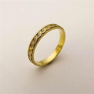 14 karat gold simple wedding ring for women gold ring with With simple ring wedding