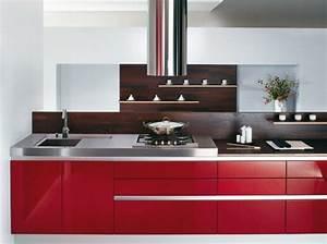 Modele De Cuisine Cuisinella : cuisine rouge cuisinella ~ Premium-room.com Idées de Décoration