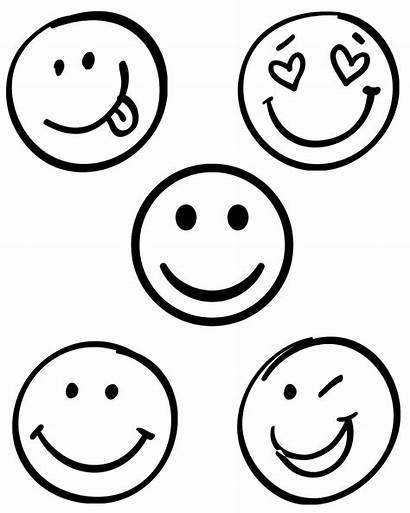 Smiley Drawing Faces Face Sketch Smile Happy