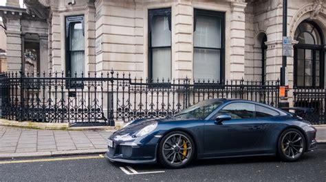 Hd Hintergrundbilder Porsche 991 Gt3 Supercar Blau Stadt