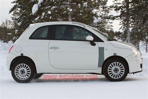 Fiat 500 Awd by Fiat 500 Awd In Spyshots Ultimate Car