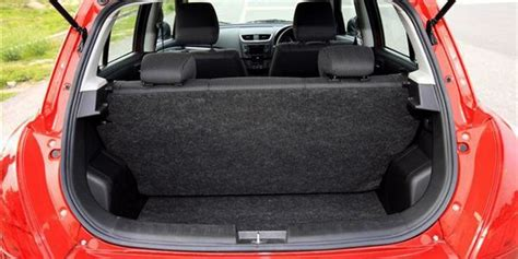 Maruti Suzuki Swift (2014-2018) Boot Space Capacity Liters ...