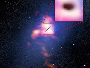 Scientists observe supermassive black hole feeding on cold gas