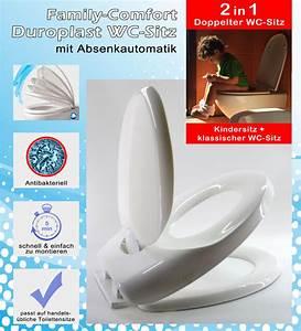Wc Sitz Mit Absenkautomatik Duroplast : duroplast toilettendeckel kindersitz wc sitz brille absenkautomatik klobrille ~ Eleganceandgraceweddings.com Haus und Dekorationen