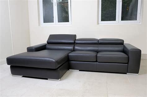 canapé 10 fois sans frais casa design canapé cittadino cuir avec méridienne