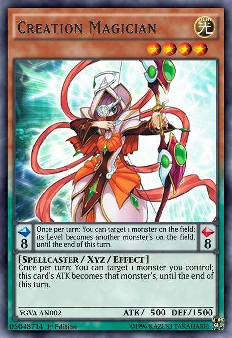 creation magician yugioh arc v anime by yeidenex on deviantart
