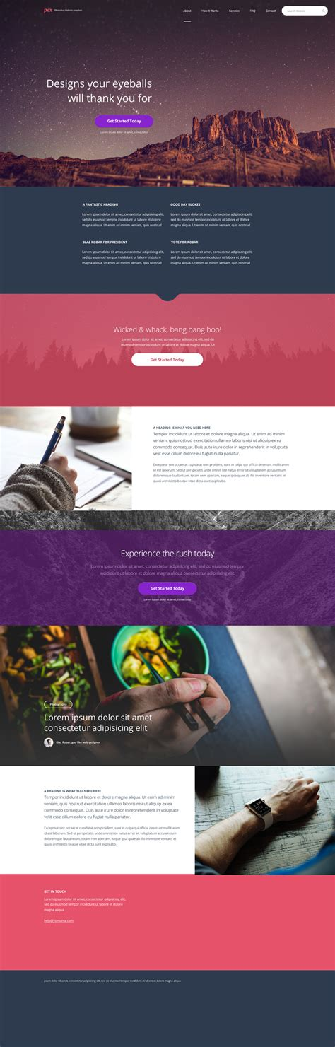 15 free psd website templates 2015 free psd templates