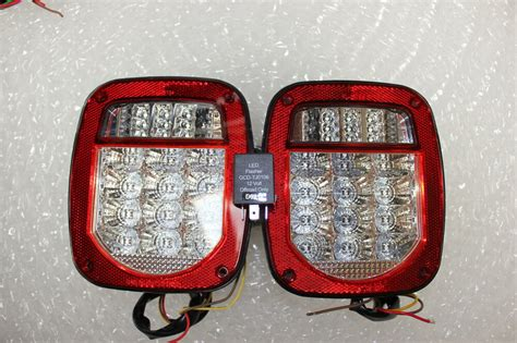 Jeep Wrangler Led Tail Lights With Flasher