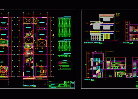 single family home  dwg plan  autocad designs cad