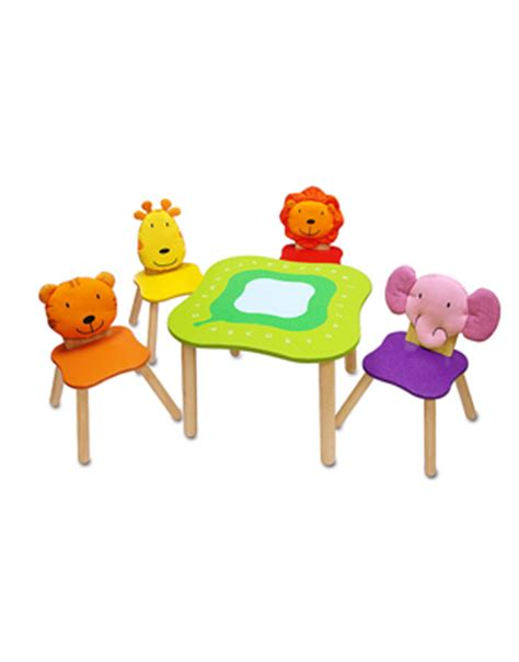 Crayola Wooden Table And Chair Set Uk by Tables And Chairs Stylenest