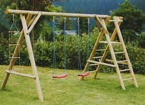 Kinderschaukel Holz Selber Bauen : kinderspielschaukeln ~ Markanthonyermac.com Haus und Dekorationen