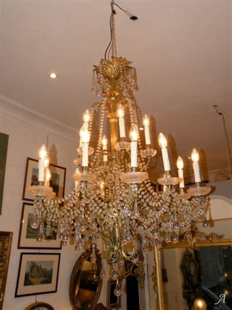lustre en cristal et bronze baccarat artisans du patrimoine