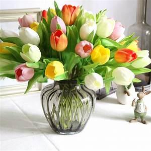 Palmier Artificiel Gifi : tulipes artificielles la pilounette ~ Teatrodelosmanantiales.com Idées de Décoration