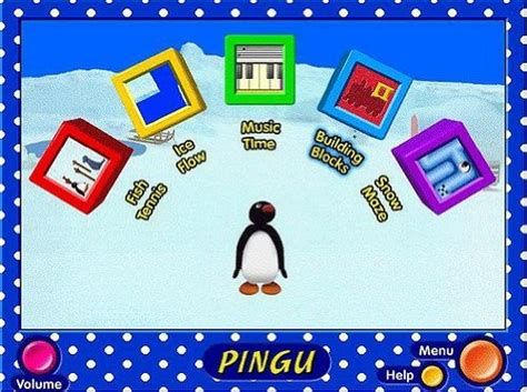 Pingu A Barrel Of Fun! (pc Cd) 5 Puzzles, 5 Games And 5