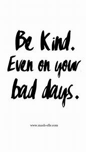 Be Kind, Even On Your Bad Days – Chelsea Crockett