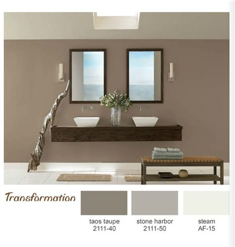 taos taupe painted family room and foyer this color