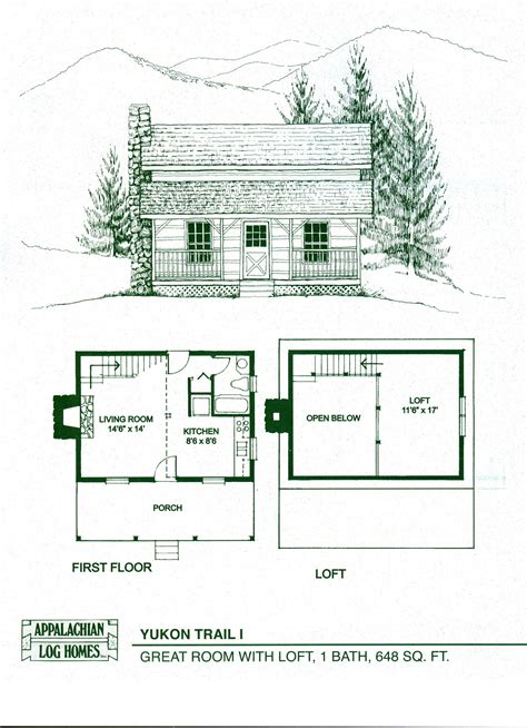 small cabin floor plan log home floor plans log cabin kits appalachian log