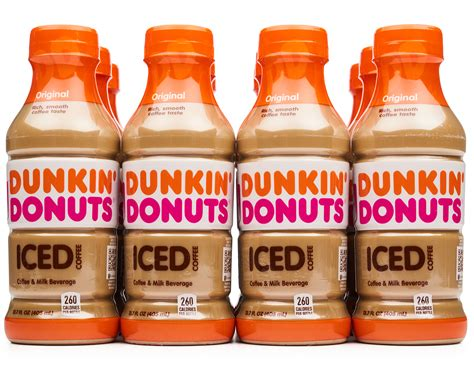 The calorie count is 230. Dunkin Donuts Iced Coffee Bottle Caffeine - Best Pictures and Decription Forwardset.Com