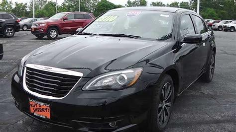 chrysler  limited sedan black  sale dayton troy