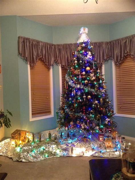 christmas traditionbuilding  village   manger