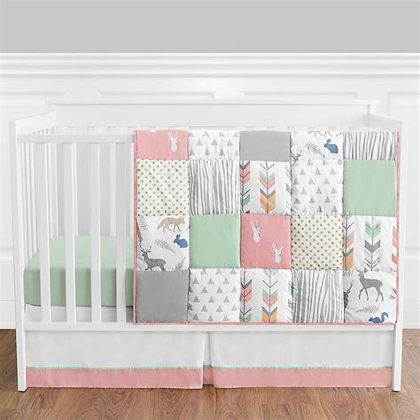 Enjoy free shipping on most stuff, even big stuff. Sweet Jojo Designs® Woodsy 4-Piece Crib Bedding Set in ...