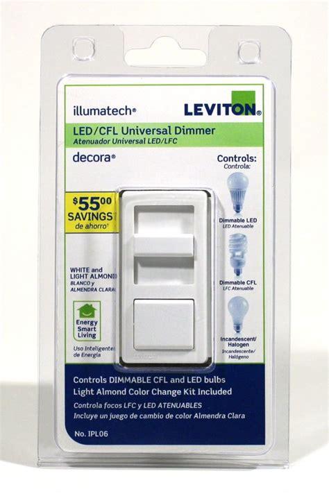 leviton ipl  incandescent dimmer switch illumatech  led cfl  ebay
