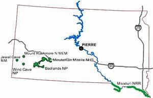 Dacota Sud Ouest : carte des parcs dakota du sud guide de voyage usa ouest ~ Premium-room.com Idées de Décoration