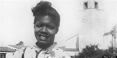How Maya Angelou Became San Francisco's First Black