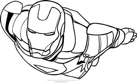iron disegni da colorare per bambini disegno di iron in volo da colorare