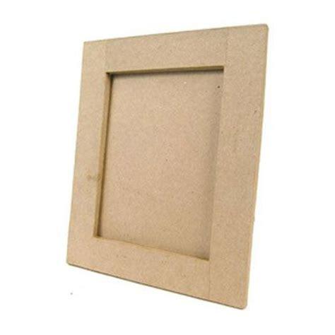 cadre en papier mache support 224 d 233 corer en papier m 226 ch 233 cadre plat rectangulaire 23 x 28 cm
