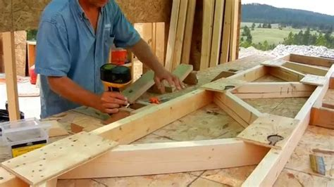 shed style house building roof trusses
