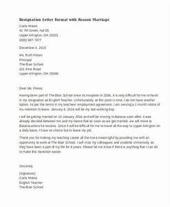 40  Resignation Letter Example