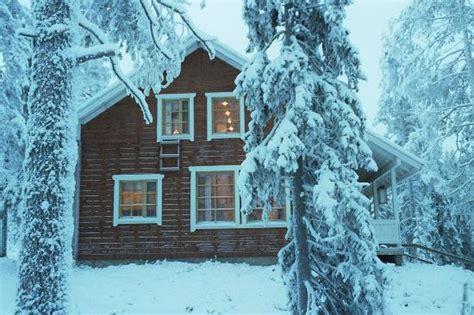 cottage rovaniemi cottage chalet winter picture of lapland hotel sky