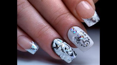 christmas nail art  easy nail art tutorial