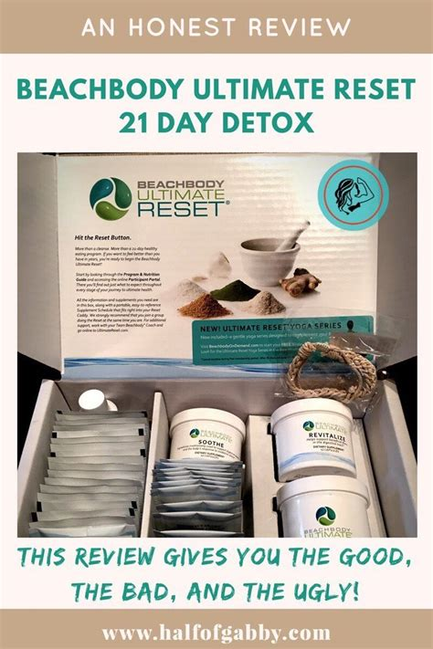 Honest Review of Beachbody's Ultimate Reset 21 Day Detox