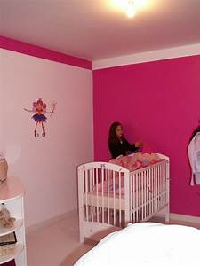 couleur chambre fille rose et gris With lovely mur couleur taupe clair 15 photos deco chambre fille rose