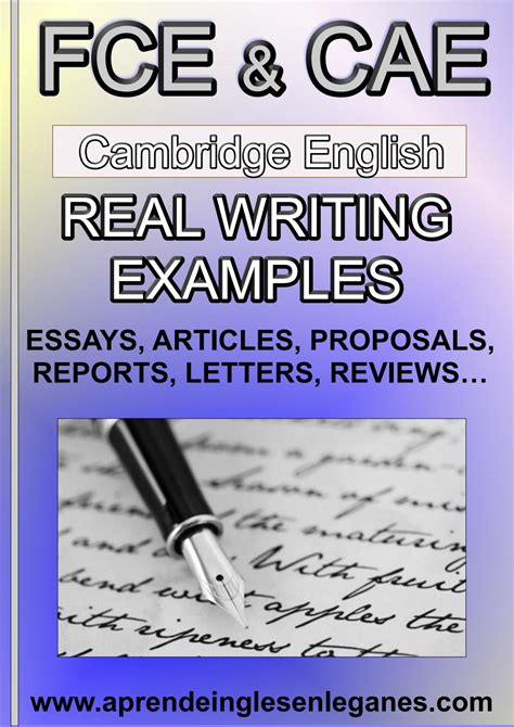fce cae real writing examples preview   ardhw