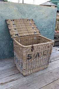 Vintage, Laundry, Basket