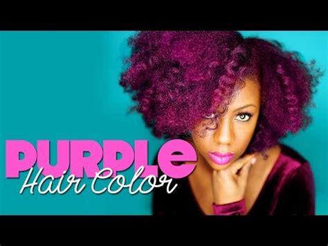 purple hair dye  natural hair manic panic ultra violet