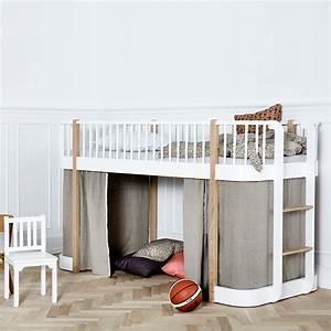 Hochbett 200 X 200 : oliver furniture bett halbhohes hochbett wood collection 90x200 cm von ~ Bigdaddyawards.com Haus und Dekorationen