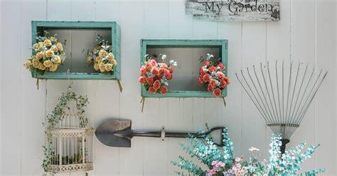 decoratie aan muur tuindecoratie voor aan de muur 21 inspirerende voorbeelden
