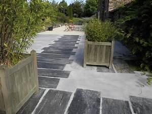 epaisseur dalle beton terrasse exterieur dalle b ton With epaisseur dalle beton terrasse