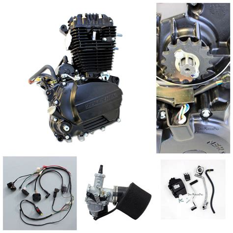 zongshen 250cc ohc engine motor manual clutch kit wiring harness pit dirt bike ebay