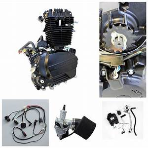 Zongshen 250cc Ohc Engine Motor Manual Clutch Kit Wiring