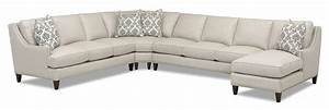 transitional 4 piece sectional with chaise by klaussner With sectional sofas no chaise