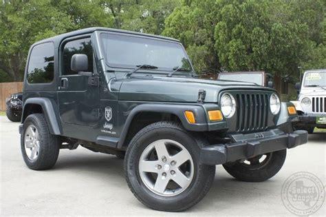 european jeep wrangler 2004 shale green wrangler sport rhd 12 995 european