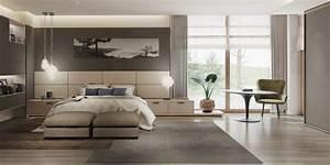 Chambre Grise Et Beige : couleur chambre design 42 espaces domin s par le gris ~ Melissatoandfro.com Idées de Décoration